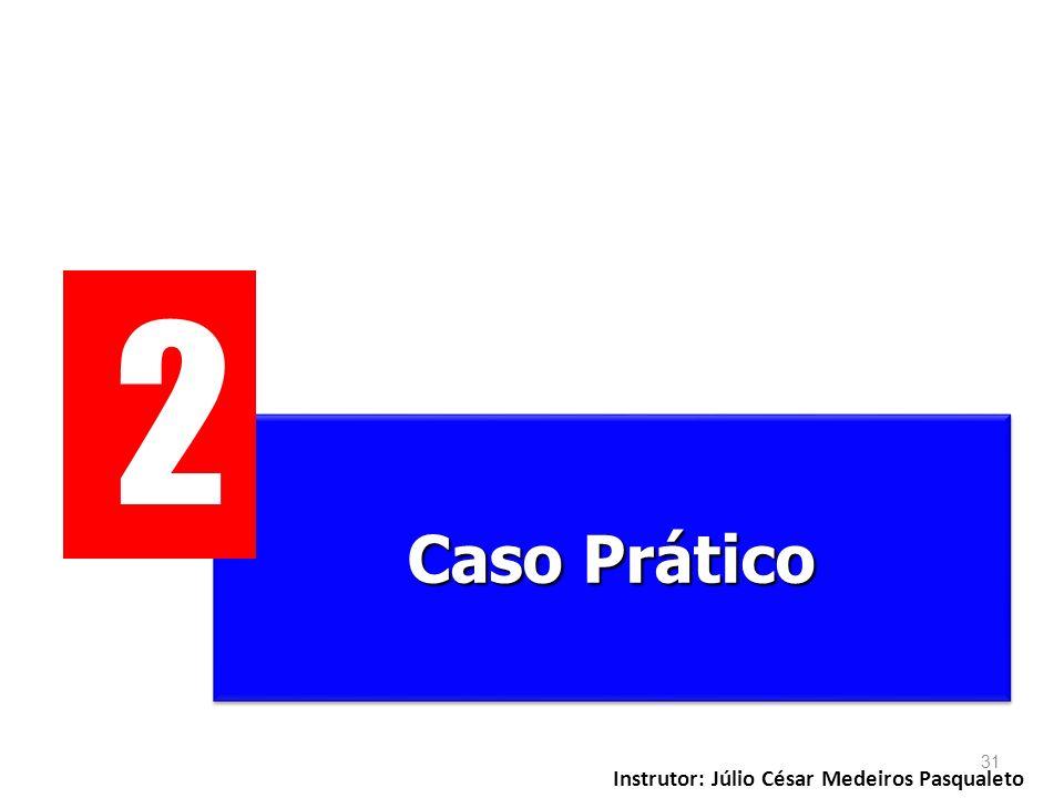 2 Caso Prático Instrutor: Júlio César Medeiros Pasqualeto