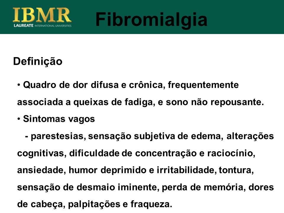 Fibromialgia Definição