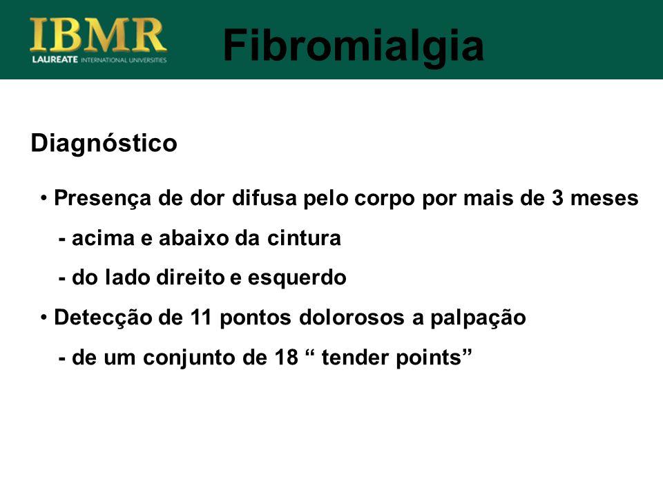 Fibromialgia Diagnóstico