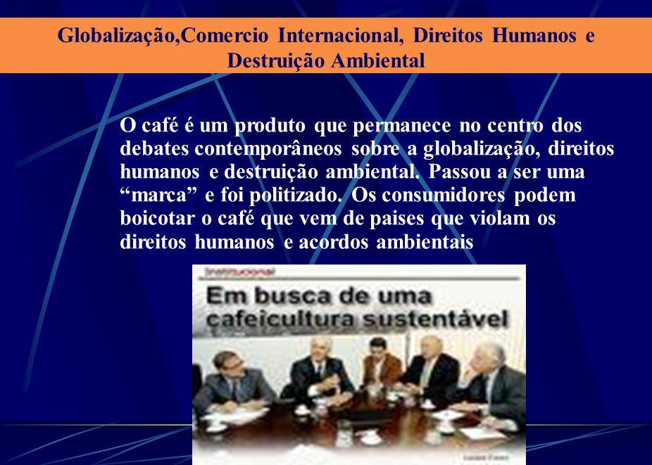 Globalização,Comercio Internacional, Direitos Humanos e Destruição Ambiental