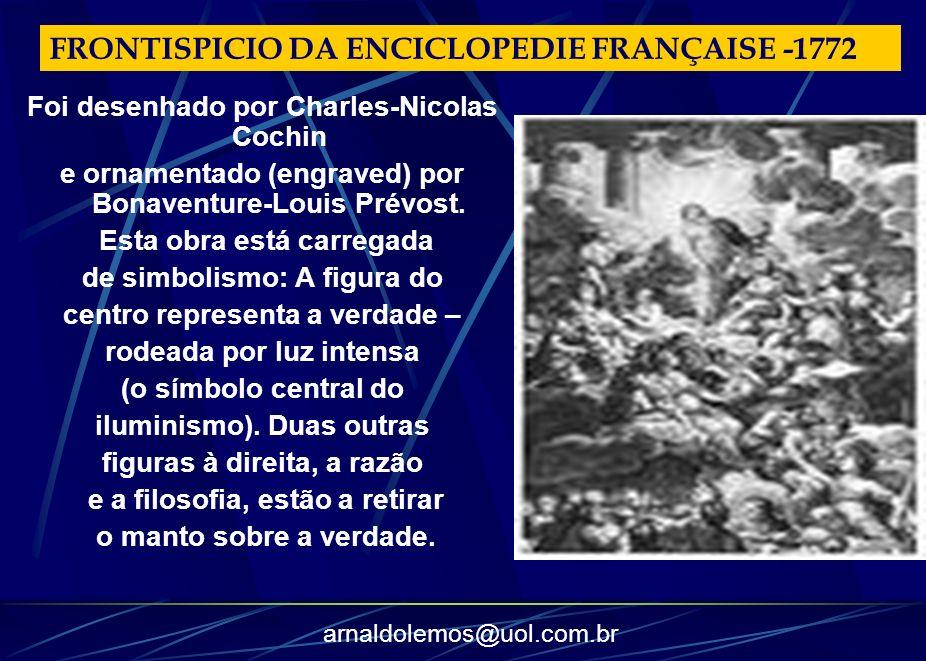 FRONTISPICIO DA ENCICLOPEDIE FRANÇAISE -1772