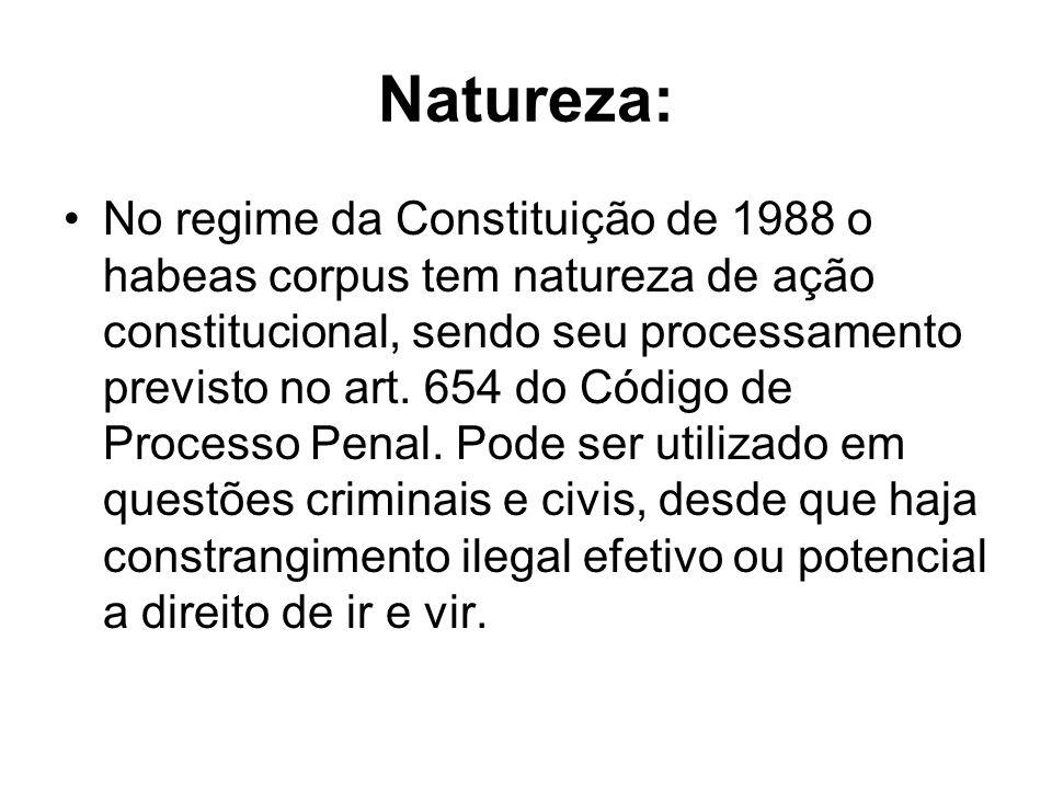 Natureza: