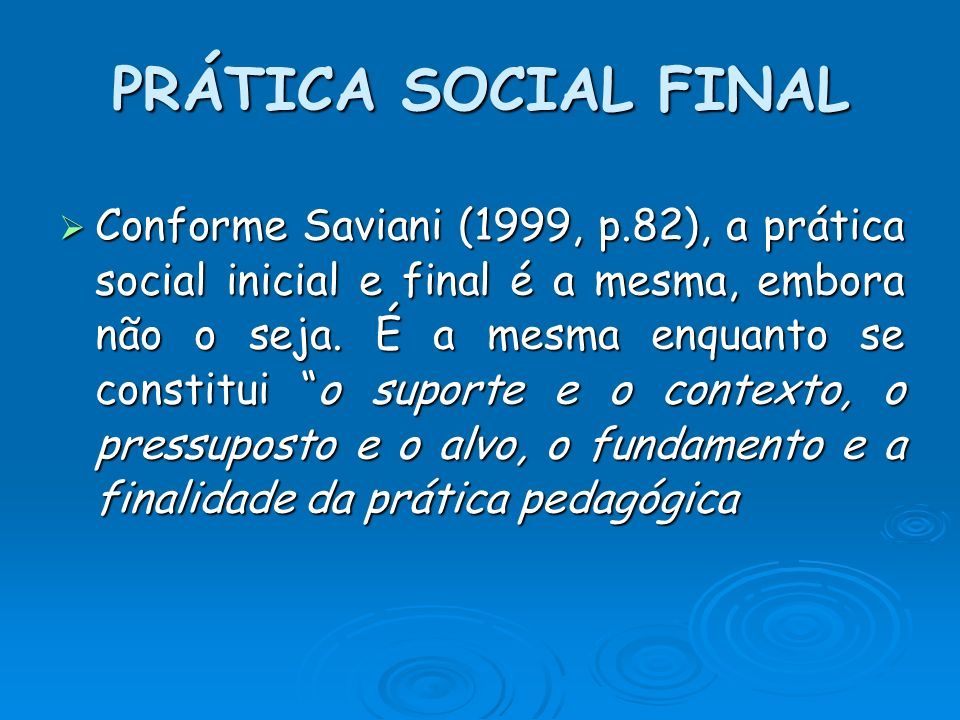 PRÁTICA SOCIAL FINAL