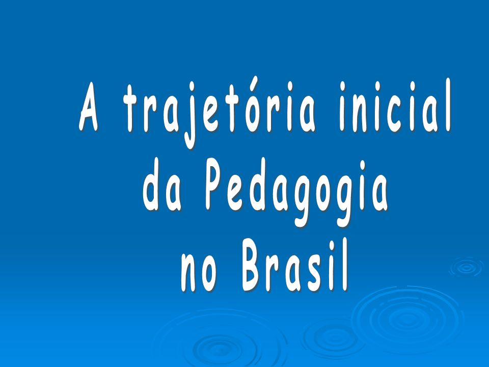 A trajetória inicial da Pedagogia no Brasil