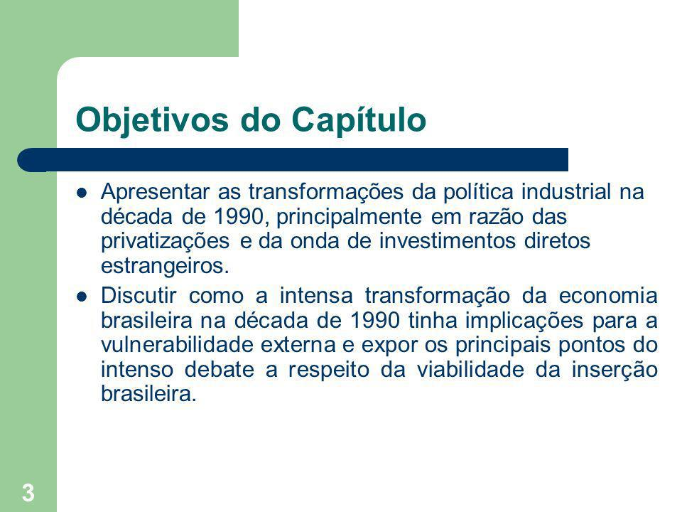 Objetivos do Capítulo