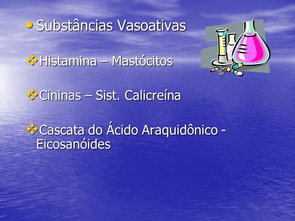 Substâncias Vasoativas