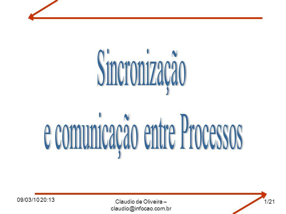 e comunicação entre Processos