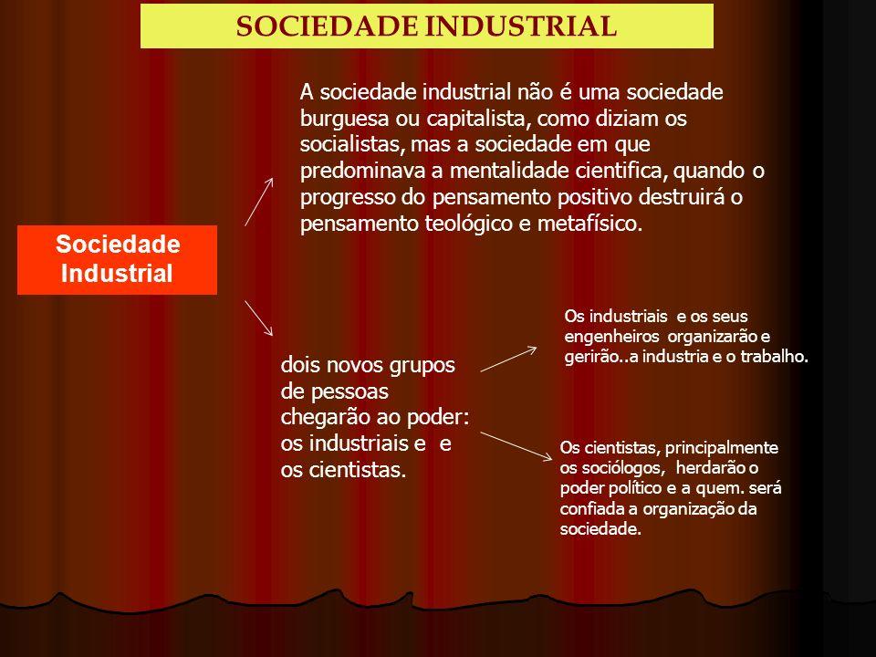 SOCIEDADE INDUSTRIAL Sociedade Industrial