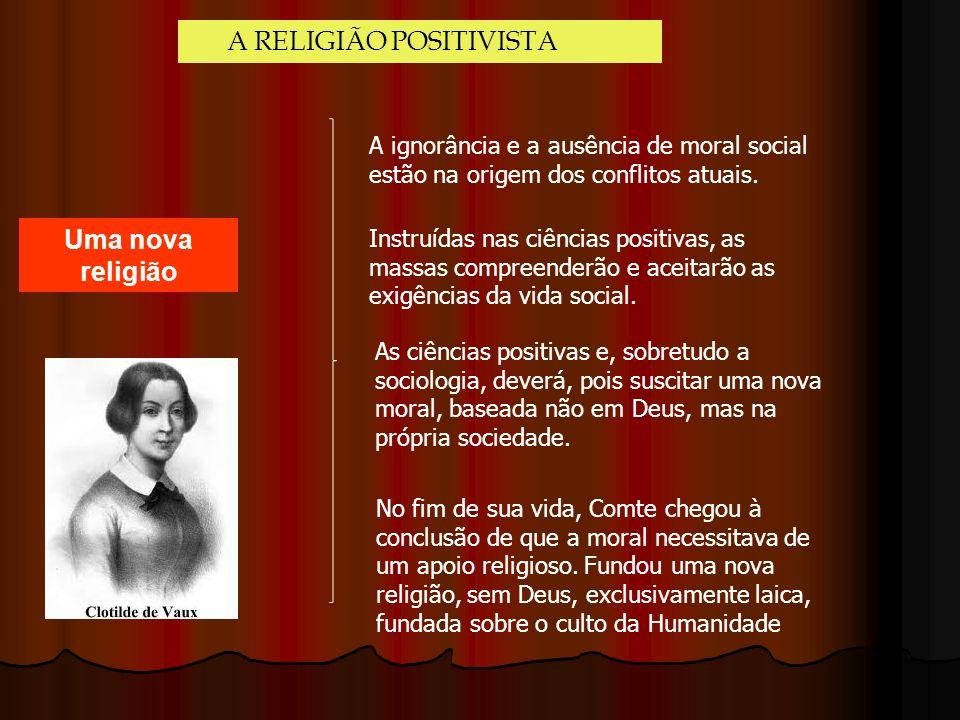 A RELIGIÃO POSITIVISTA