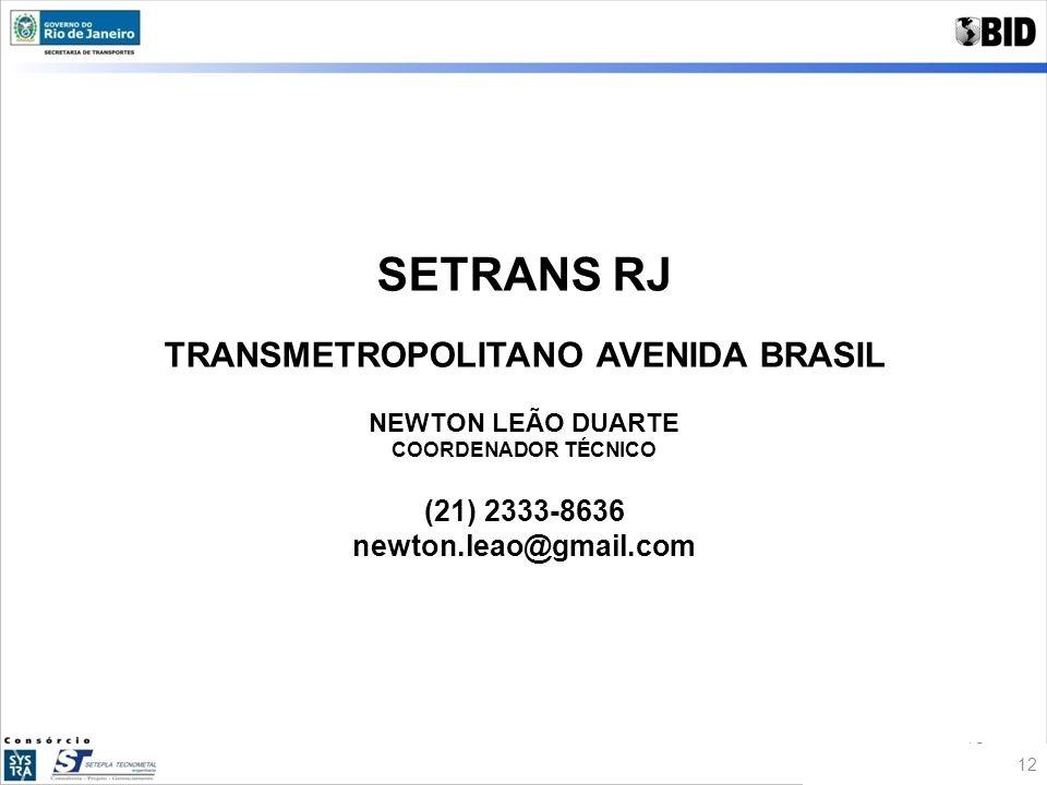 TRANSMETROPOLITANO AVENIDA BRASIL