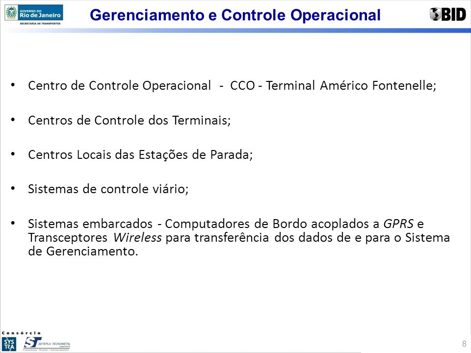 Gerenciamento e Controle Operacional