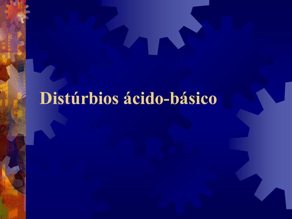 Distúrbios ácido-básico