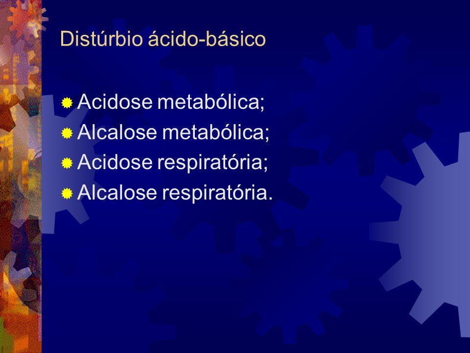 Distúrbio ácido-básico