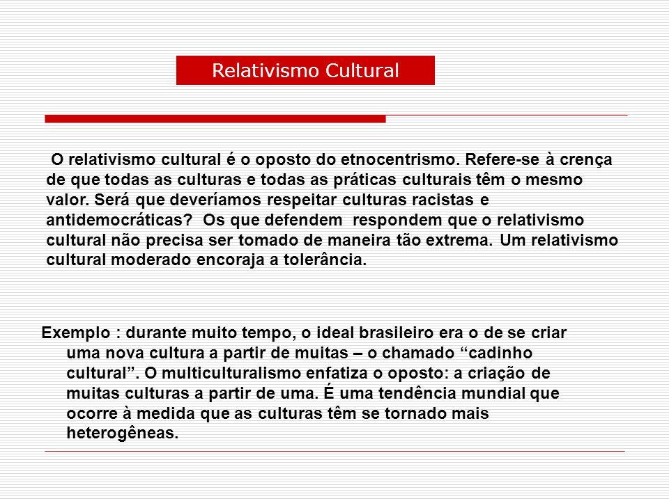 Relativismo Cultural