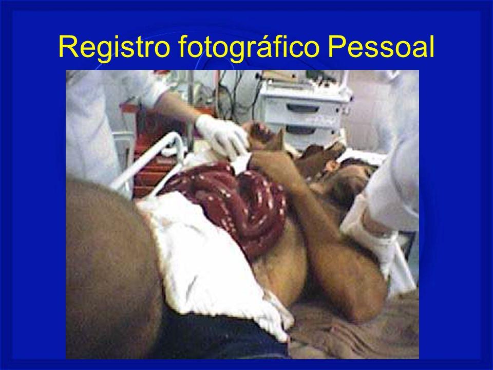 Registro fotográfico Pessoal