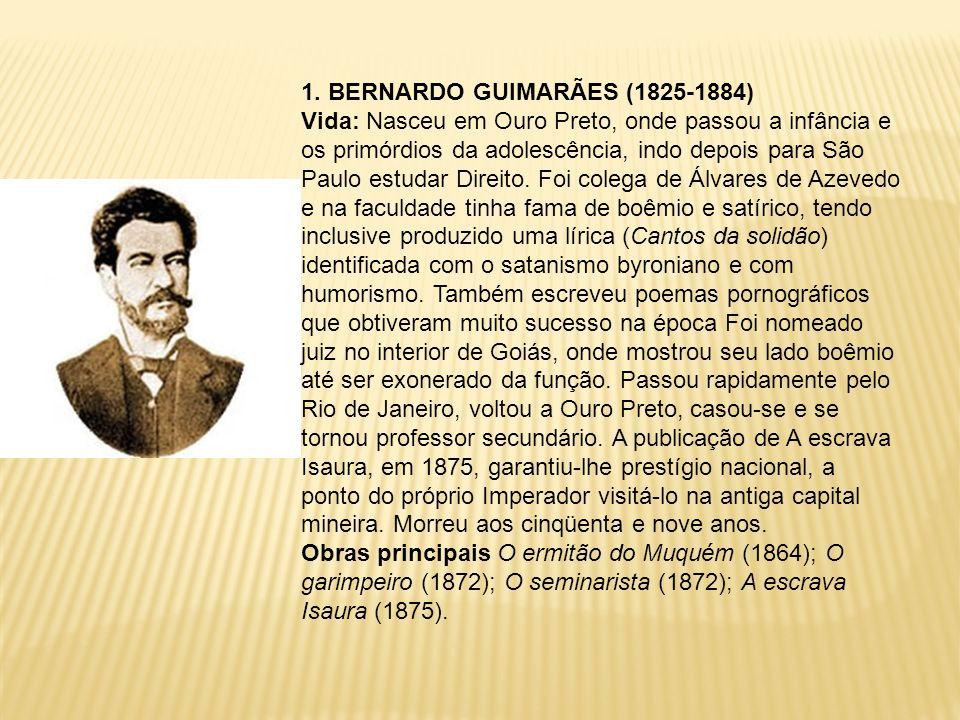 1. BERNARDO GUIMARÃES (1825-1884)