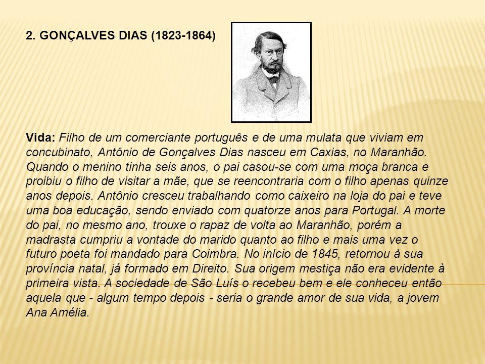 2. GONÇALVES DIAS (1823-1864)