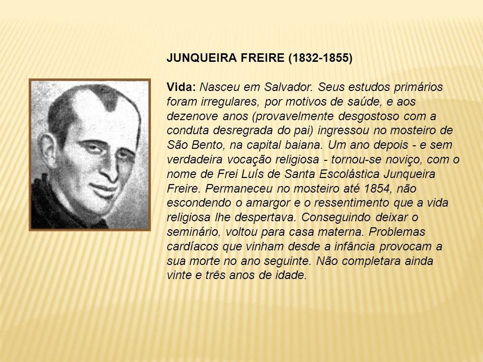 JUNQUEIRA FREIRE (1832-1855)