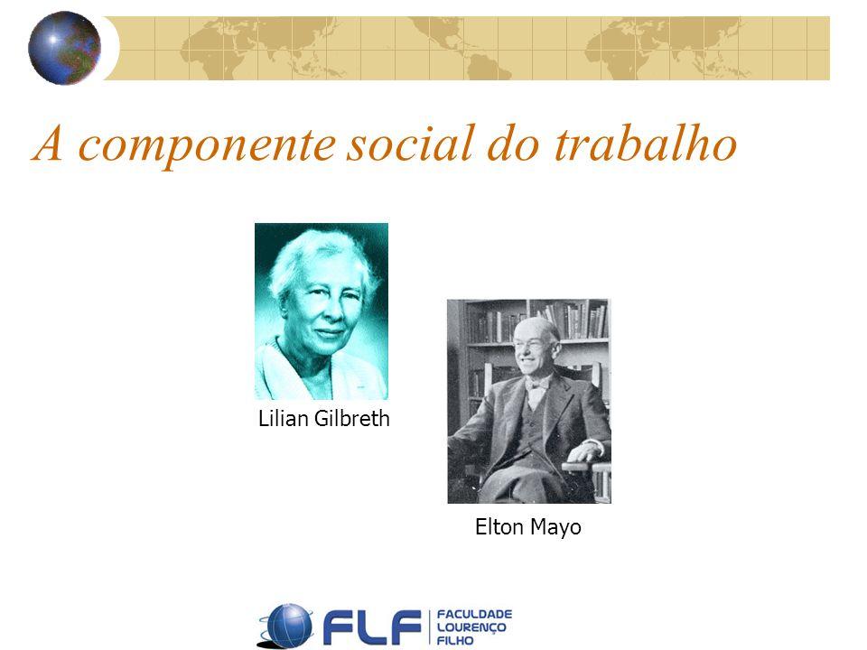 A componente social do trabalho