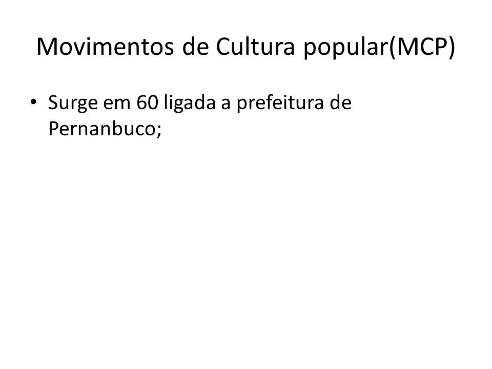 Movimentos de Cultura popular(MCP)