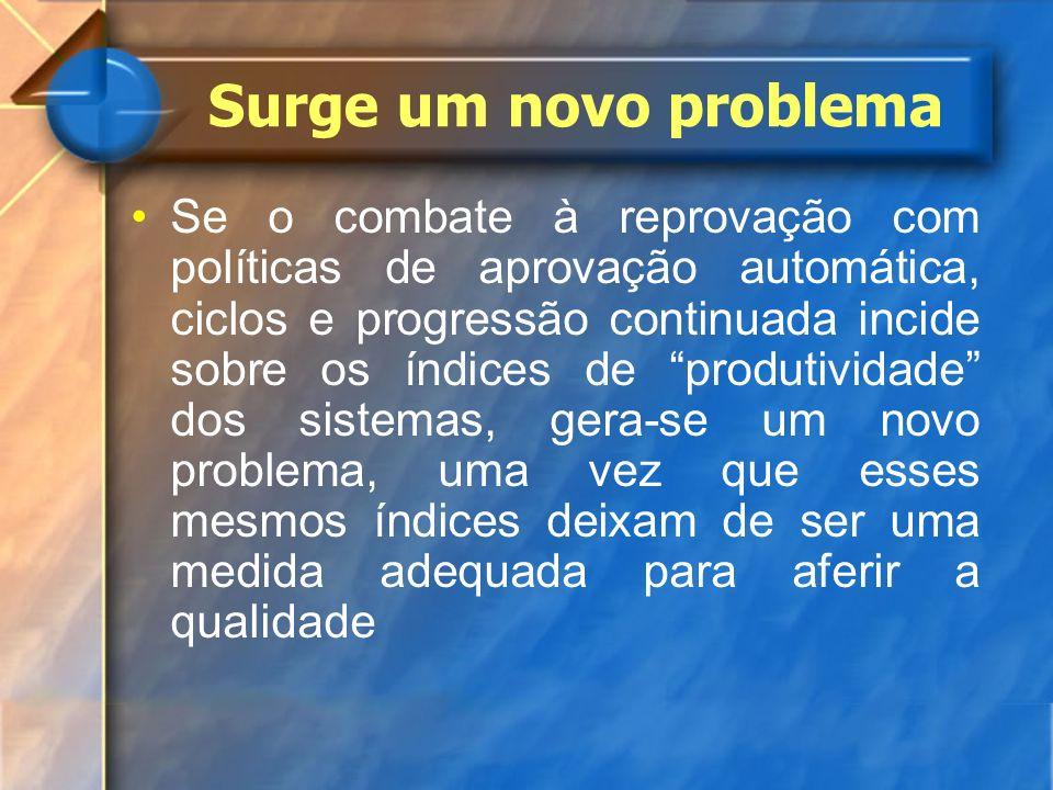 Surge um novo problema
