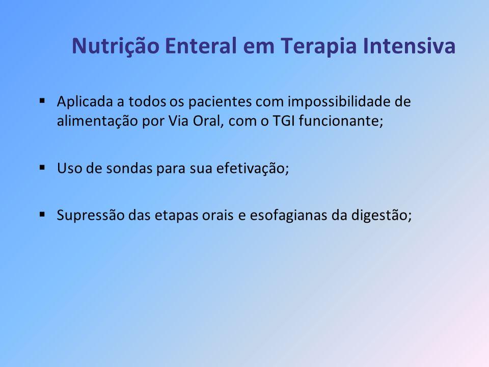 Nutrição Enteral em Terapia Intensiva