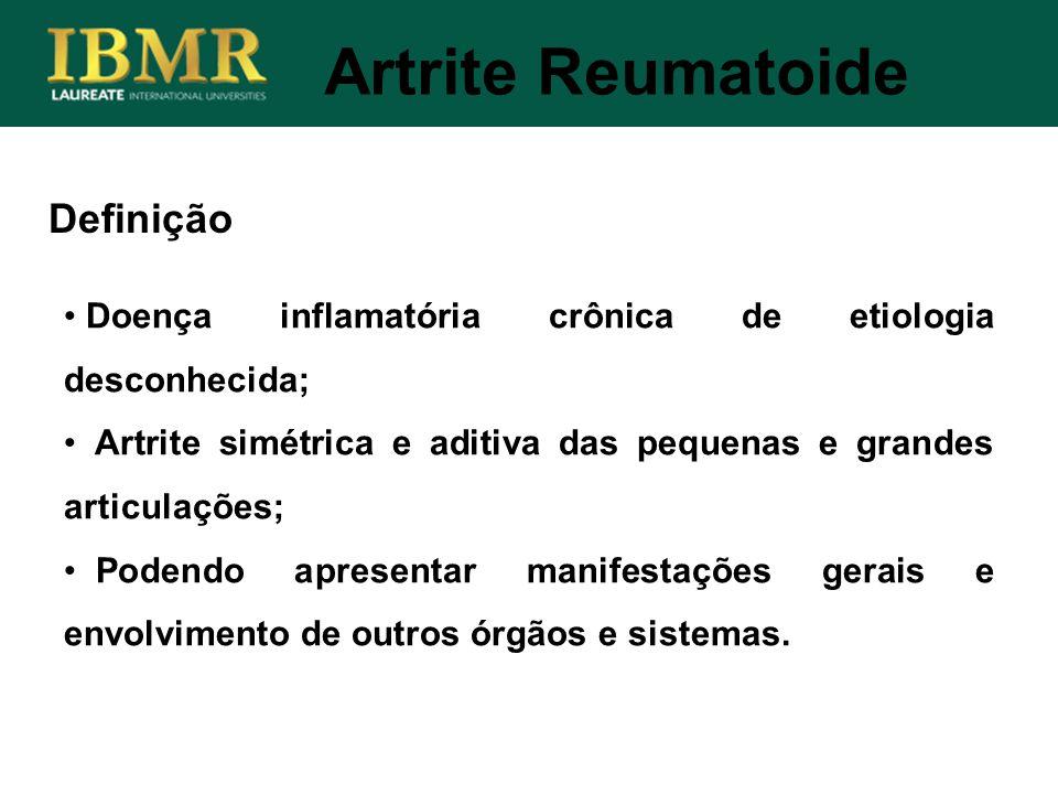 Artrite Reumatoide Definição