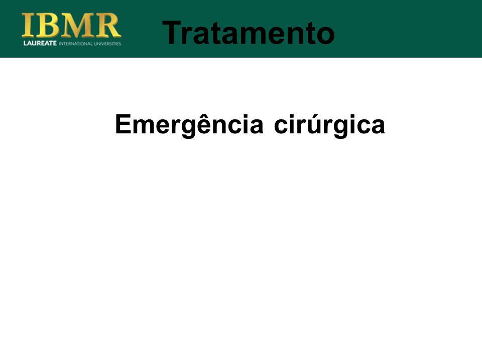 Tratamento Emergência cirúrgica