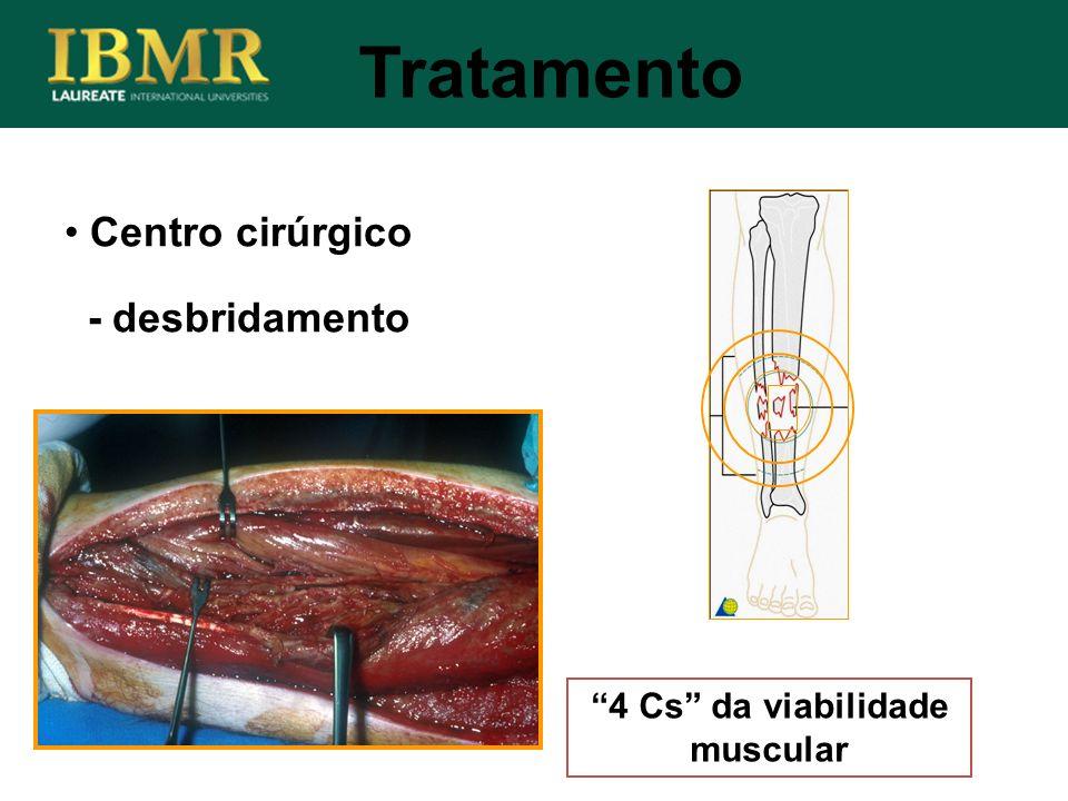 4 Cs da viabilidade muscular