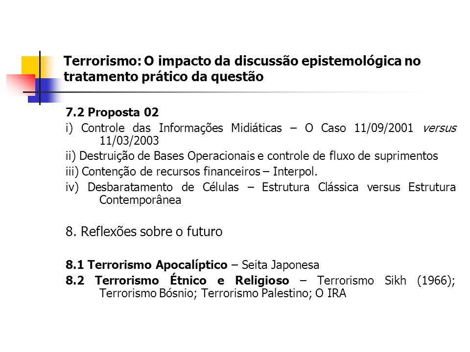 8. Reflexões sobre o futuro