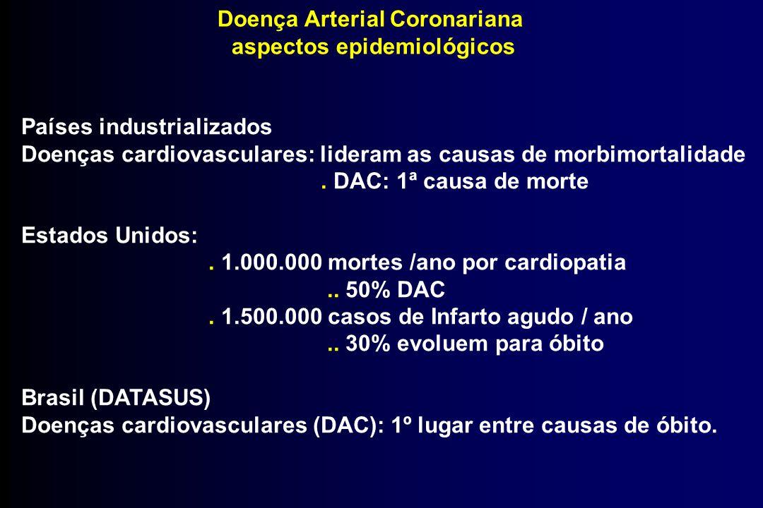 Doença Arterial Coronariana aspectos epidemiológicos