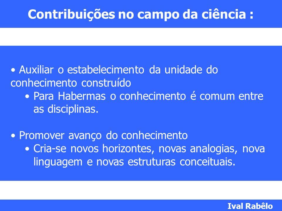 Contribuições no campo da ciência :