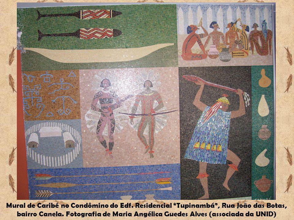 Mural de Caribé no Condômino do Edf