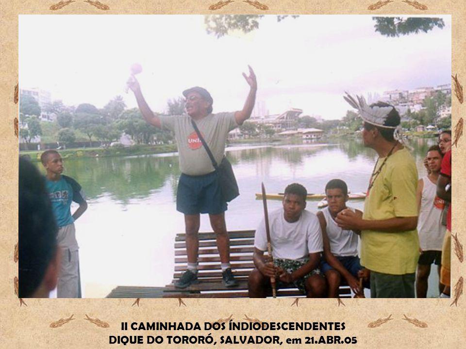 II CAMINHADA DOS ÍNDIODESCENDENTES