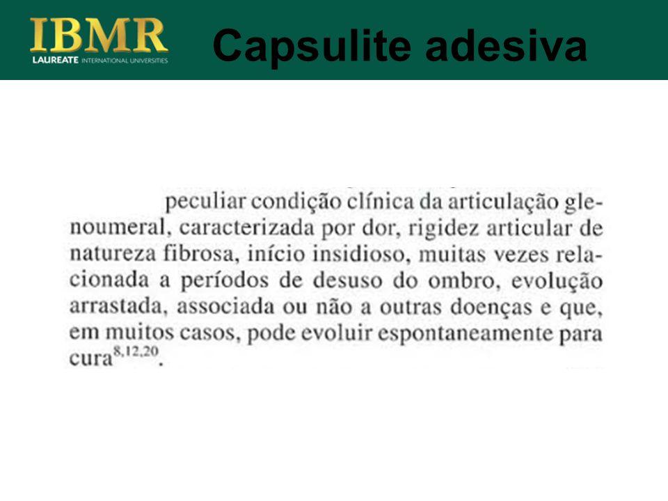 Capsulite adesiva
