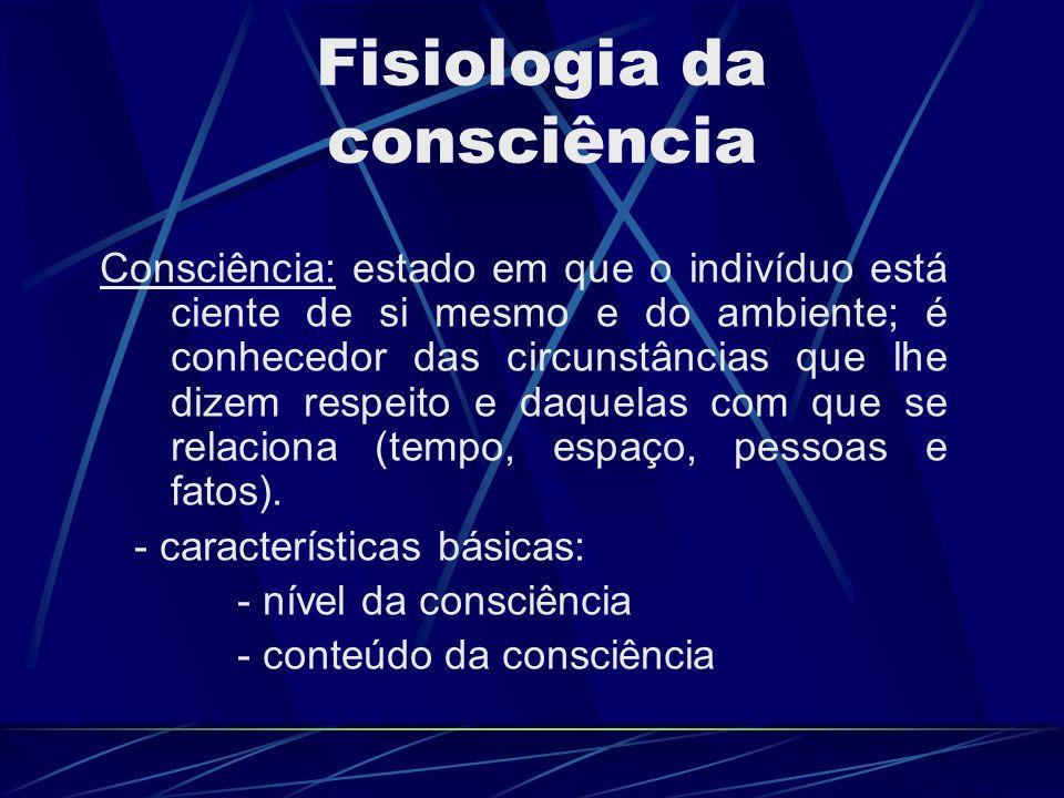 Fisiologia da consciência