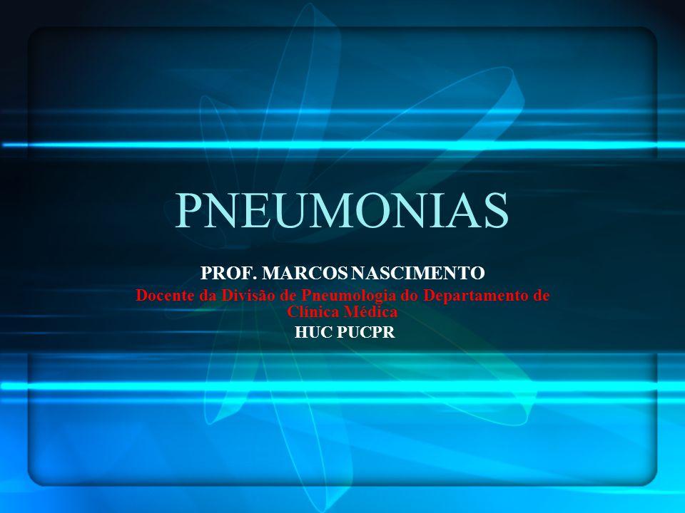 PNEUMONIAS PROF. MARCOS NASCIMENTO