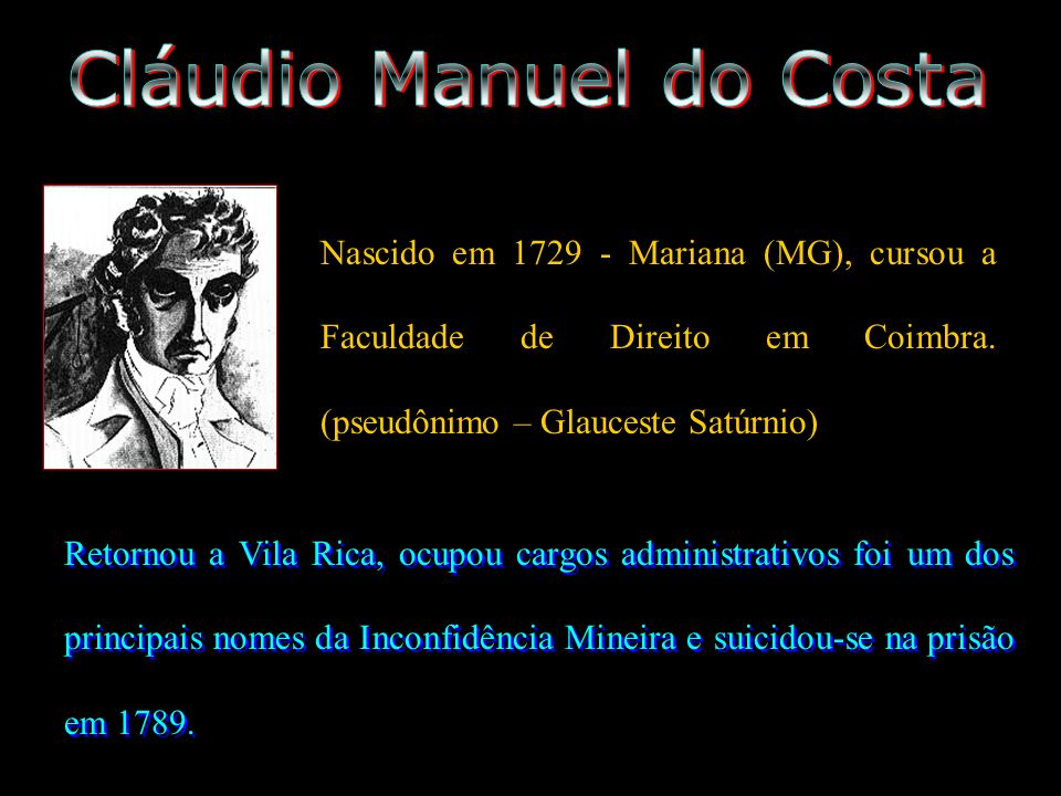 Cláudio Manuel do Costa
