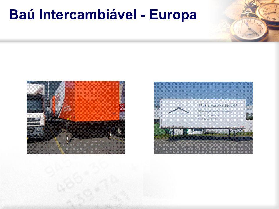 Baú Intercambiável - Europa