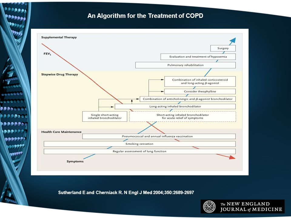 An Algorithm for the Treatment of COPD