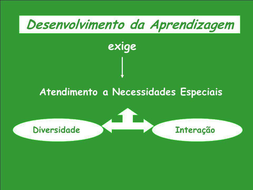 Desenvolvimento da Aprendizagem Atendimento a Necessidades Especiais