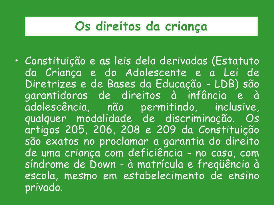Os direitos da criança