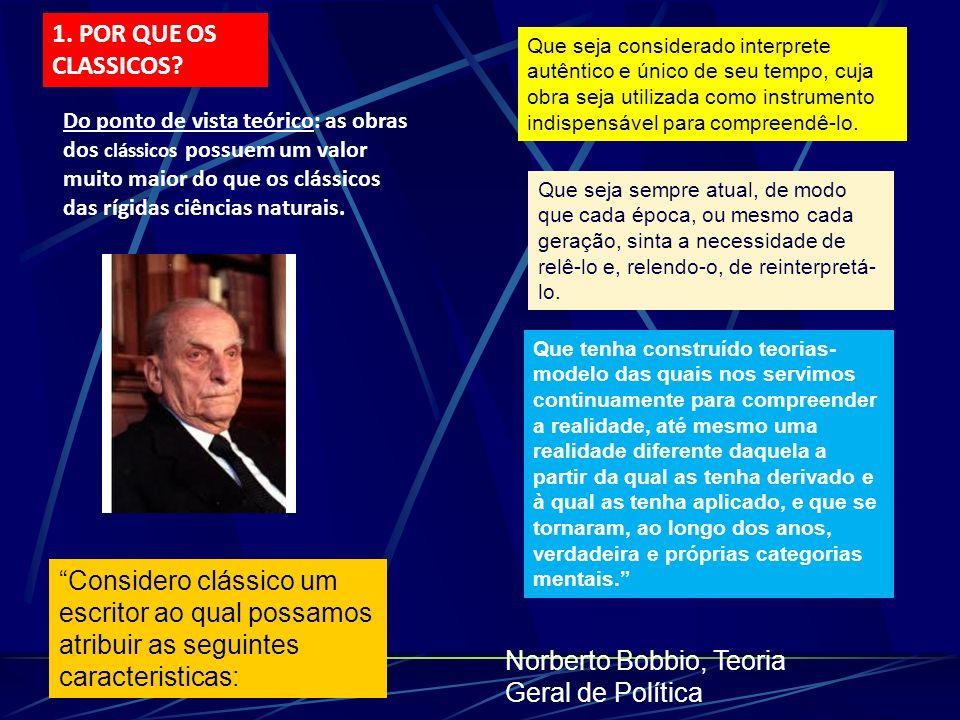 Norberto Bobbio, Teoria Geral de Política
