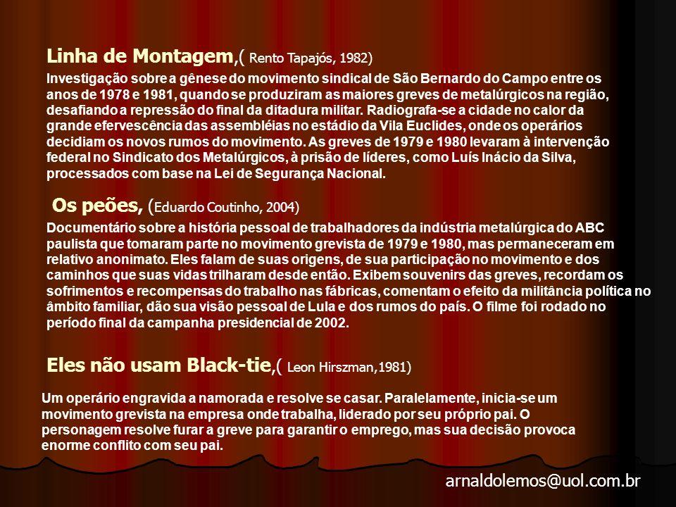 Linha de Montagem,( Rento Tapajós, 1982)