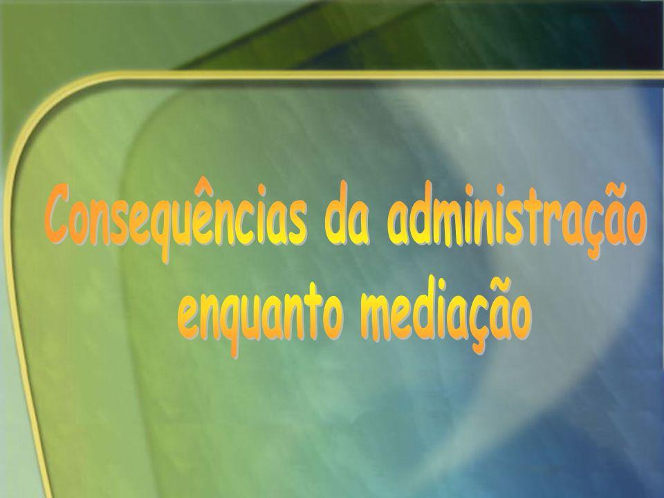 Consequências da administração