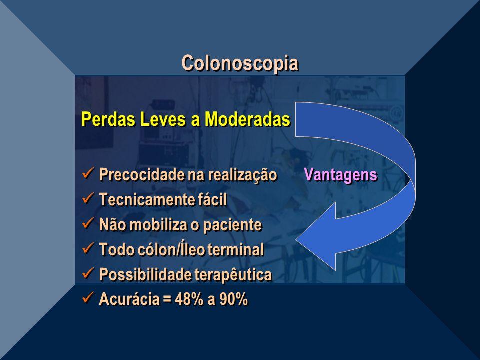 Colonoscopia Perdas Leves a Moderadas