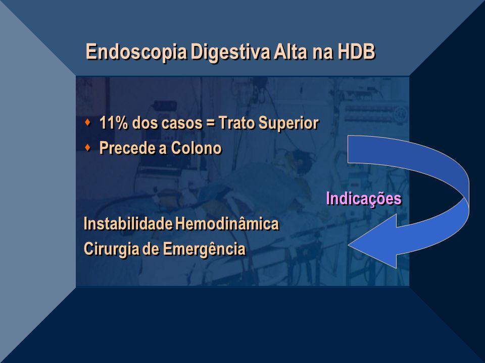 Endoscopia Digestiva Alta na HDB