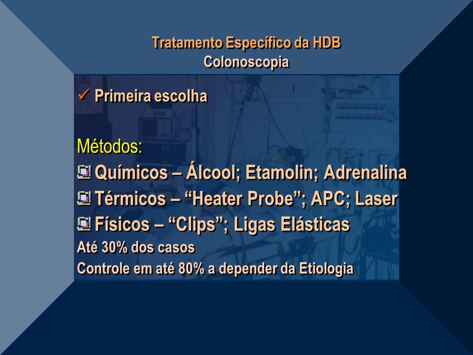 Tratamento Específico da HDB Colonoscopia