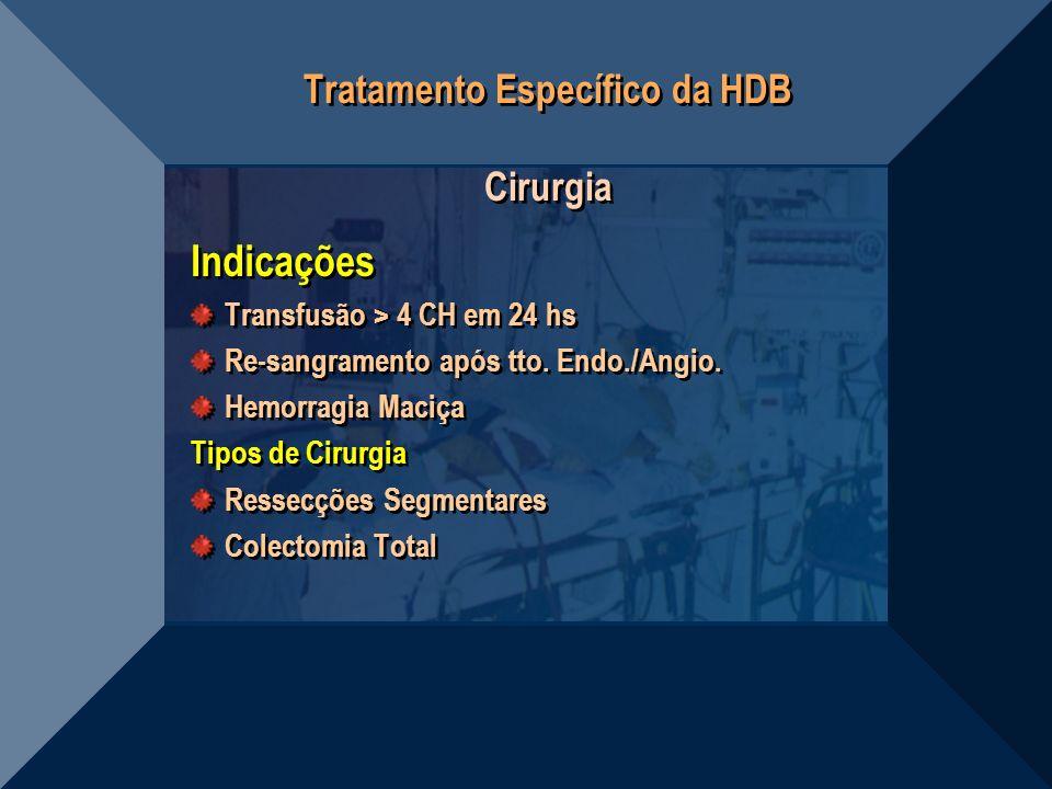 Tratamento Específico da HDB Cirurgia