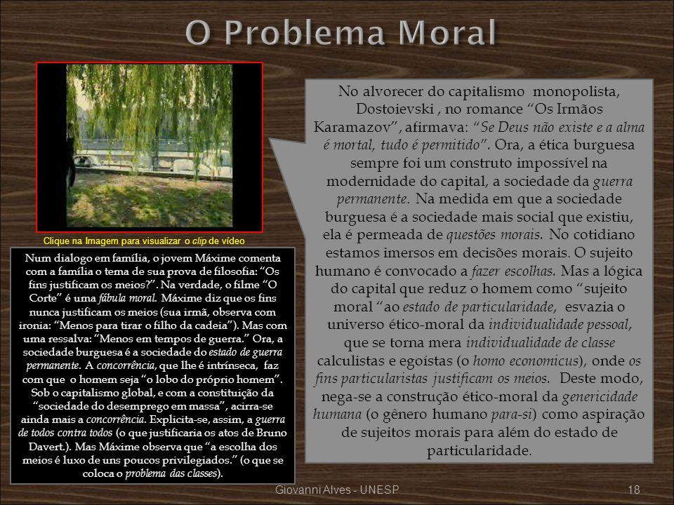 O Problema Moral